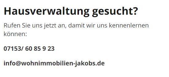 Hausverwalter & Immobilienverwalter in der Nähe für 73269 Hochdorf - Notzingen, Ziegelhof oder Reichenbach (Fils)